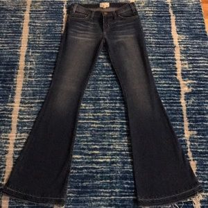CURRENT/ELLIOTT Jeans The Bell Fuel w/ Fray s25